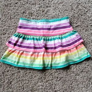 Other - 3 for $12 NWOT rainbow skort faded glory